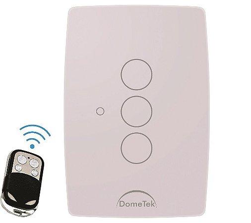 Interruptor Touch 3 PADS RF Sense