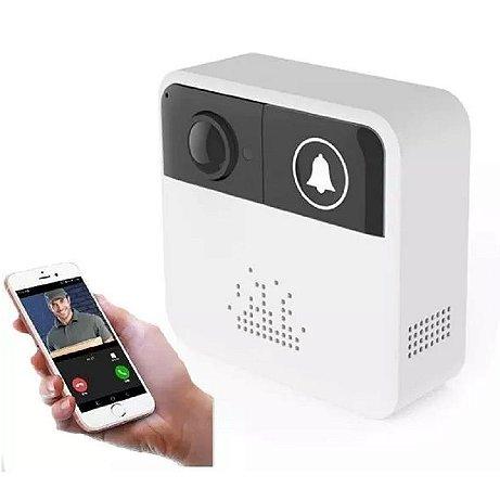 Campainha Câmera e Áudio - WI-FI Sem Fio Inteligente