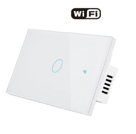 Interruptor 1 Via WIFI parede - Casa Inteligente-Smart Life