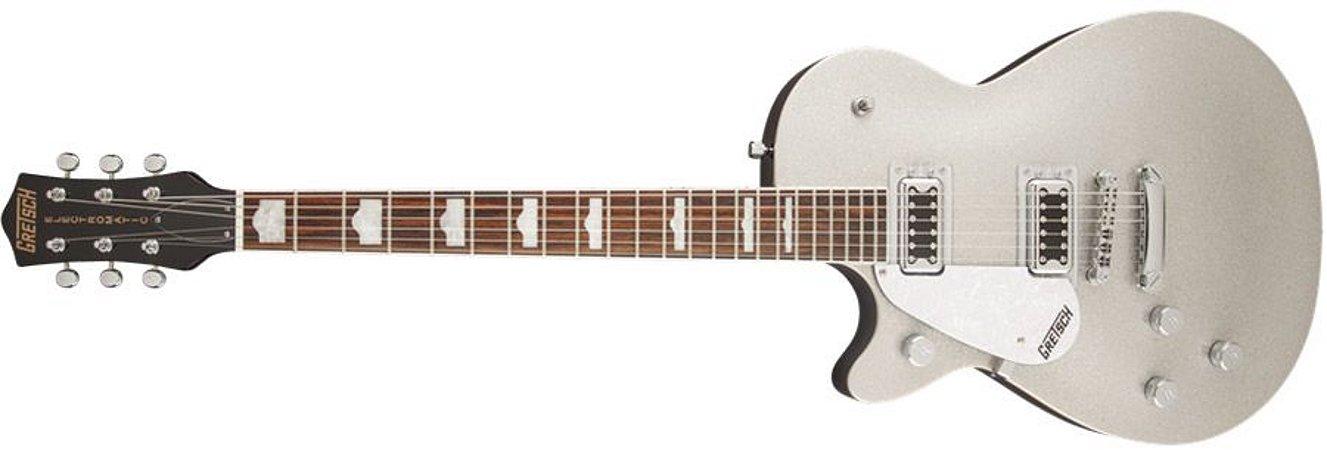 Guitarra para Canhotos Gretsch 251 7210 517 - G5439LH Electromatic Pro Jet - Silver Sparkle