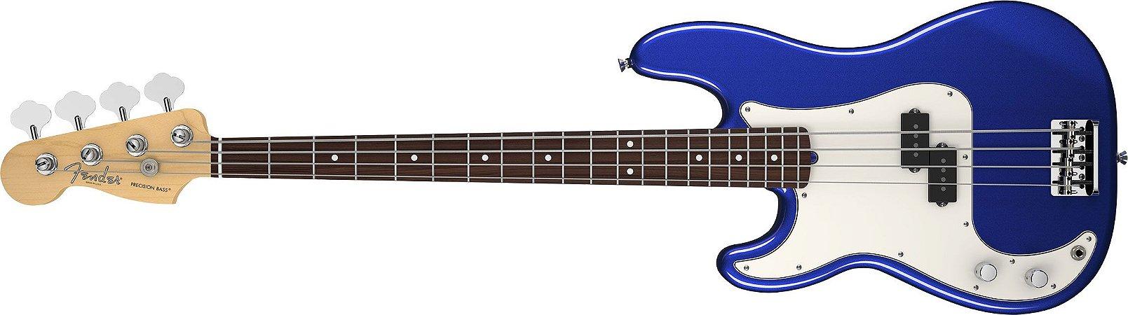 Contrabaixo para Canhotos FENDER 019 3620 - AM Standard Precision Bass LH RW - 795 - Mystic Blue