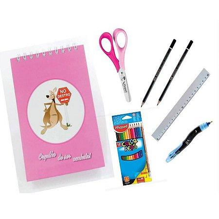 Kit Escolar para Canhotos Infantil 1