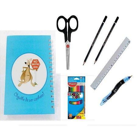 Kit Escolar para Canhotos Infantil 6