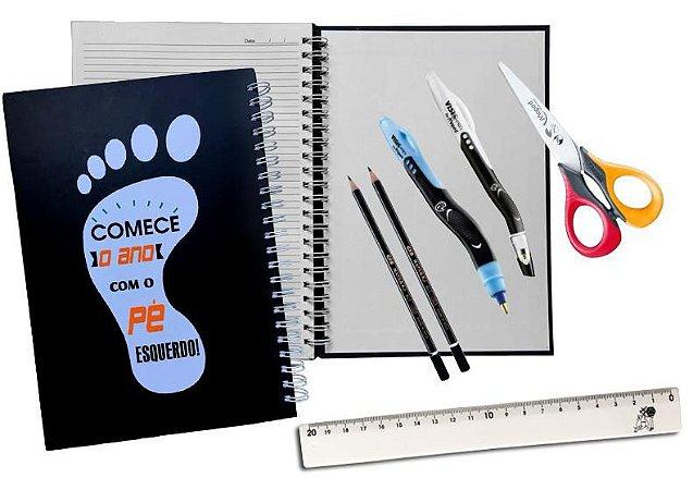 Kit Escolar para Canhotos 2019