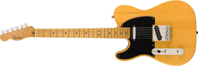 Guitarra para Canhotos Fender 037 4035 - Squier Classic Vibe 50S Telecaster LH MN - 550 - Butterscotch Blonde