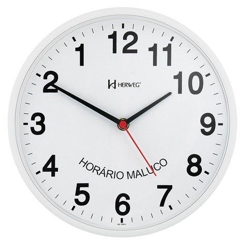 Relógio de Parede Anti-Horário - Herweg
