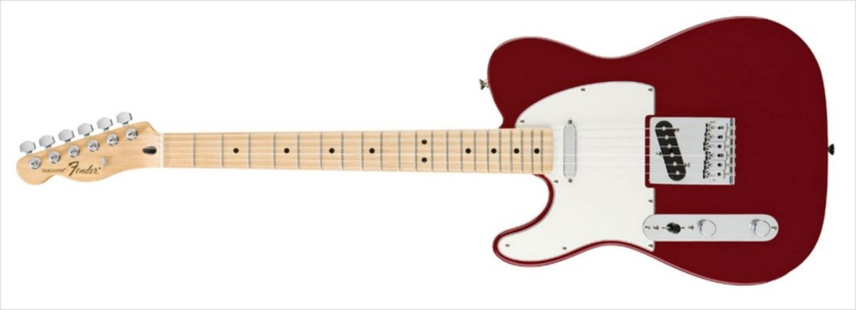 Guitarra para Canhotos FENDER 014 5122 - Standard Telecaster LH - 509 - Candy Apple Red
