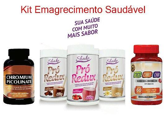 Kit Emagrecimento Saudável  (60 dias)