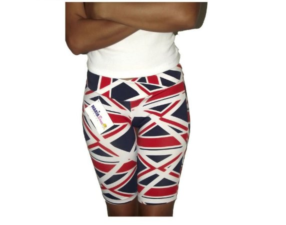 Shorts Estampado Inglaterra