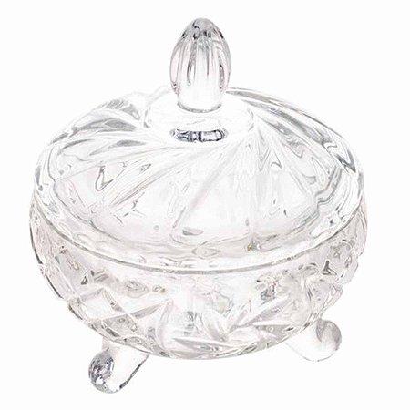 Bomboniere Decorativo de Cristal Prima 10,5x13cm Lyor
