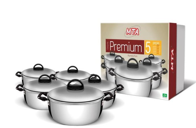 Conjunto Premium 5 Peças MTA - 965
