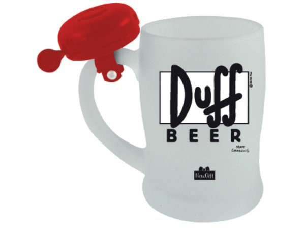 CANECA CAMPAINHA NEW GIFT 650ML DUFF BEER