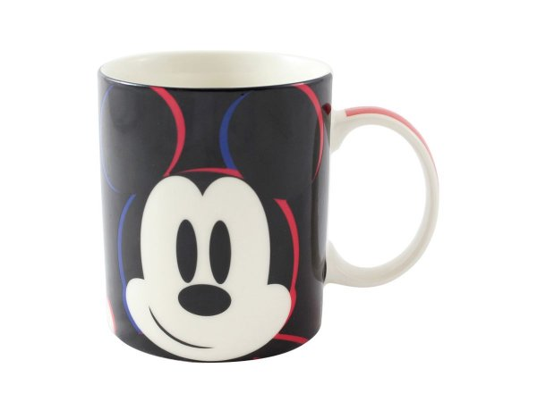 CANECA CERÂMICA 300ML MAGIC ZONA CRIATIVA MICKEY MOUSE PRETO