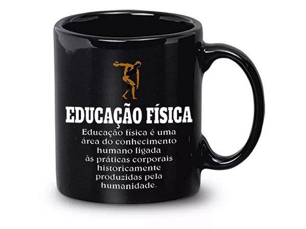 CANECA CERÂMICA REGINA 340ML REF.1269 EDUCAÇÃO FÍSICA