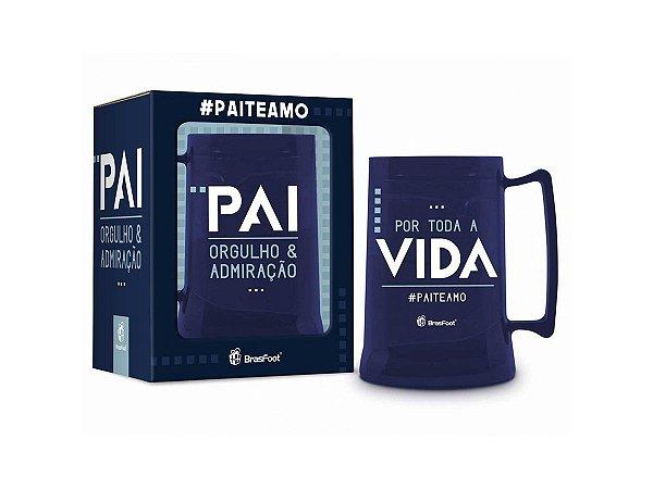CANECA GEL 300ML BRASFOOT TEMAS - #PAITEAMO