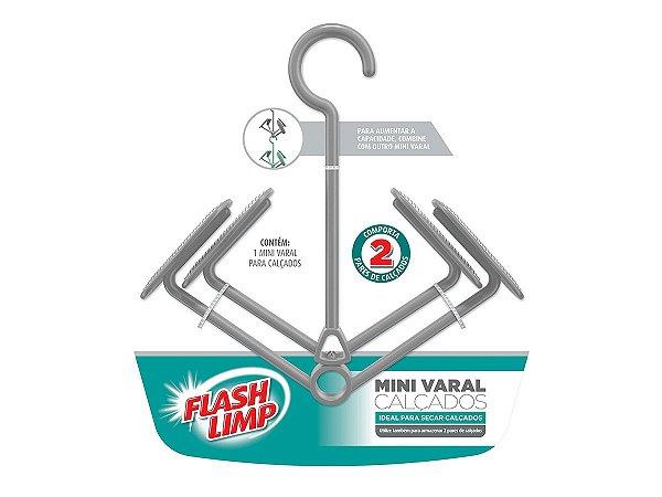 Mini Varal Para Tênis Calçados P/ 2 Pares Flashlimp LAV6797