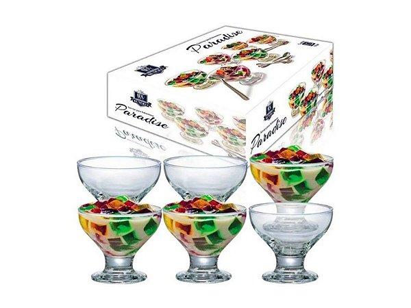Conjunto Taças vidro 282ml 12Pçs Sobremesa Ruvolo Paradise