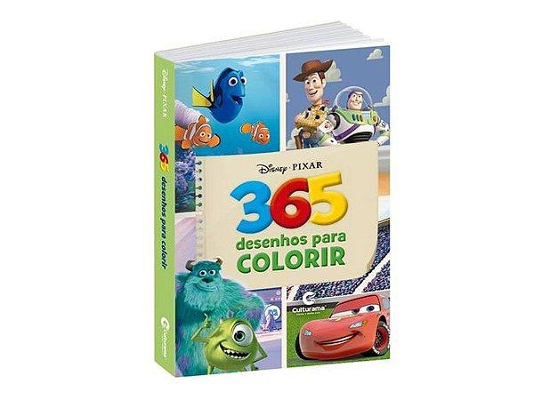 Livro Para Colorir Infantil 365 Desenhos Disney