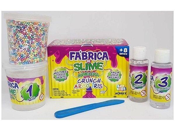 Fabrica de Slime - Crunch Arco Íris