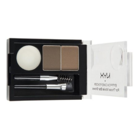 Kit Sobrancelha Nyx Eyebrow Cake Powder Cor Brunette