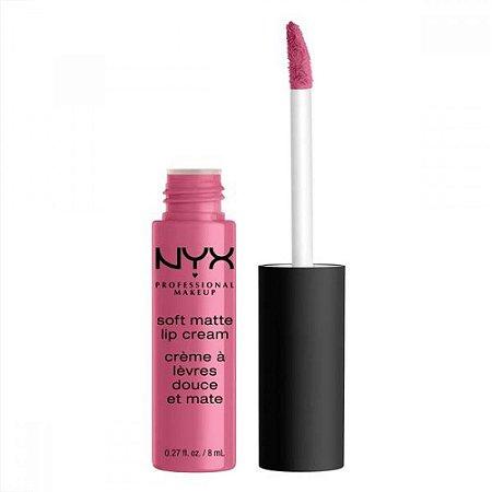 Batom Líquido Soft Matte Lip Cream Nyx 8ml Cor Montreal