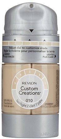 Base Revlon Custom Creations 30ml FPS 15 Cor 010 Light