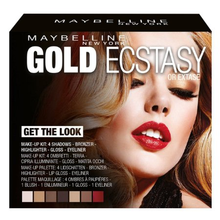 Kit Maybelline Gold Ecstasy