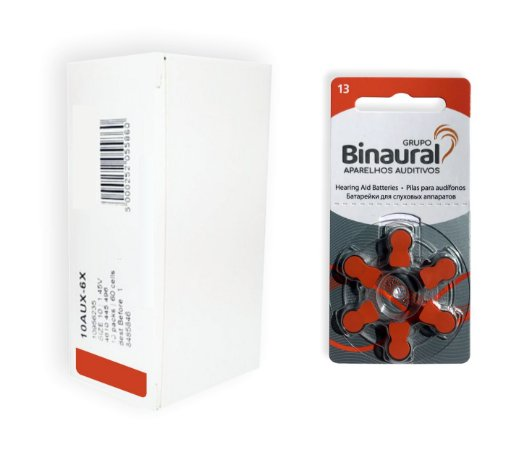 Caixa de Pilha Binaural 13