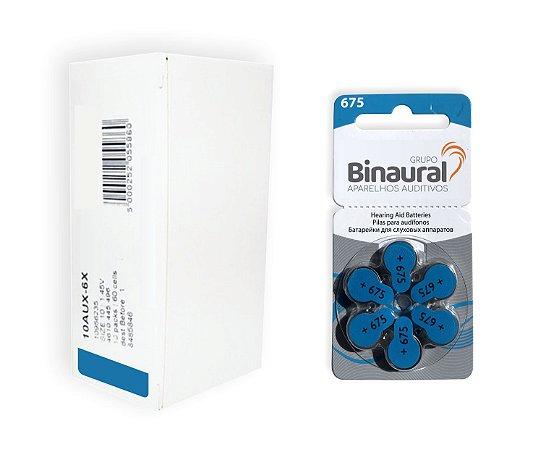 Caixa de Pilha Binaural 675
