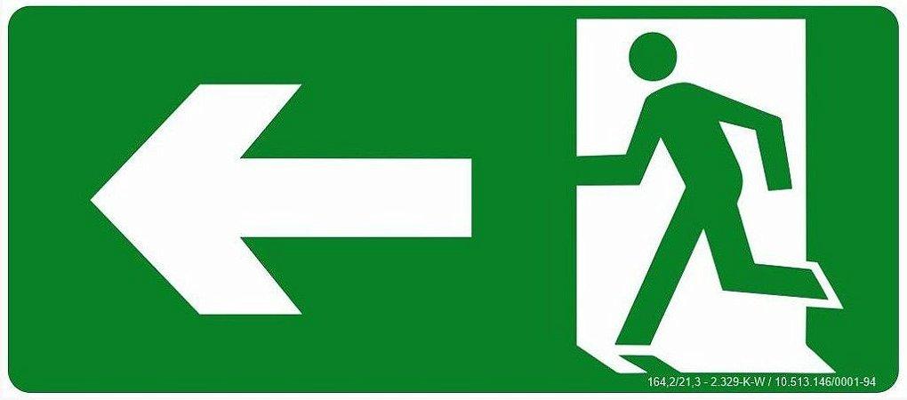 Rota de Fuga - Saída a Esquerda