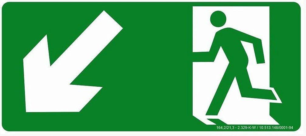 Rota de Fuga - Descida a Esquerda