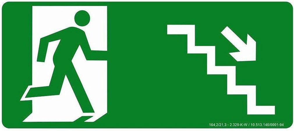 Rota de Fuga - Desce Escada a Direita