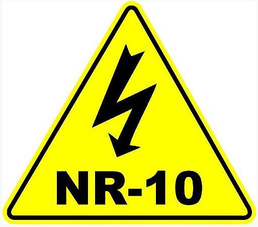 Etiqueta - Adesivo Identificação Painel Elétrico NR-10