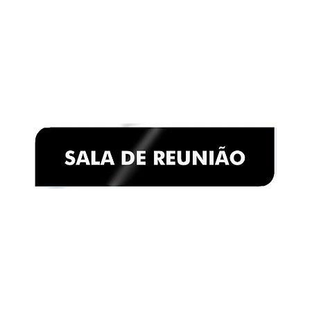 Placa Identificação - Sala de Reunião - Acrilico