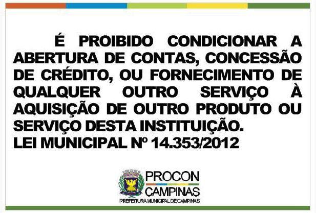 Placa - Lei Municipal 14.353/2012