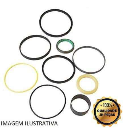 Kit Reparo Levante Dianteiro Retroescavadeira New Holland LB90 87428628