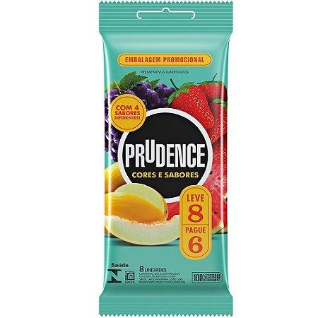 Preservativos Cores & Sabores Prudence 6 Un.