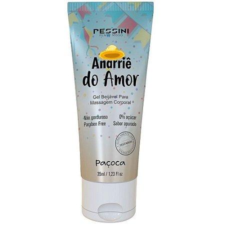 ANARRIÊ SABOR PAÇOCA GEL COMESTÍVEL 35ML