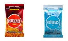 Preservativos Prudence FIRE & ICE 3 Un.