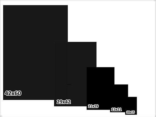 Cartaz Lousa Reutilizável 3G em PS Liso Preto