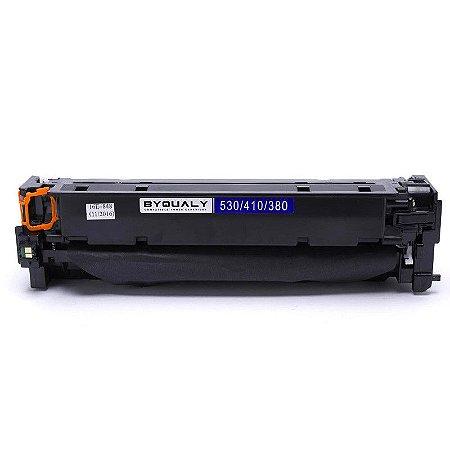 Cartucho de Toner Compatível Hp Cf380A Ce410A Cc530A Preto
