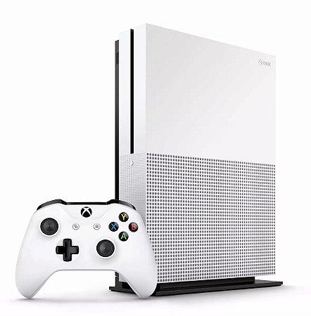 Console Xbox One S 1tb 4k Controle Wireless Cabo Hdmi Branco Slim - Microsoft