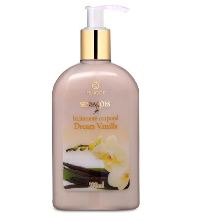 Hinode Sensações Hidratante Desodorante Corporal Dream Vanilla 300ml - Hinode