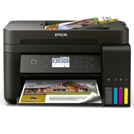 Impressora Multifuncional Epson L6191, Tanque de Tinta com Duplex e Wi-Fi