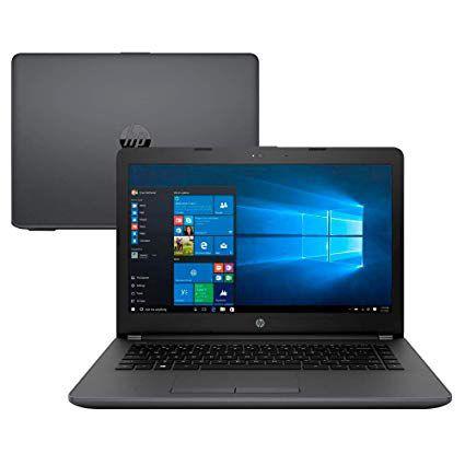 """Notebook 14"""" Intel  HP G6 Core i3 7020U 4GB 500GB Windows 10 Geração 7"""