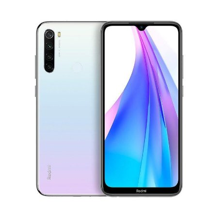 Smartphone Xiaomi Redmi Note 8T 64Gb (Moonlight White) Branco