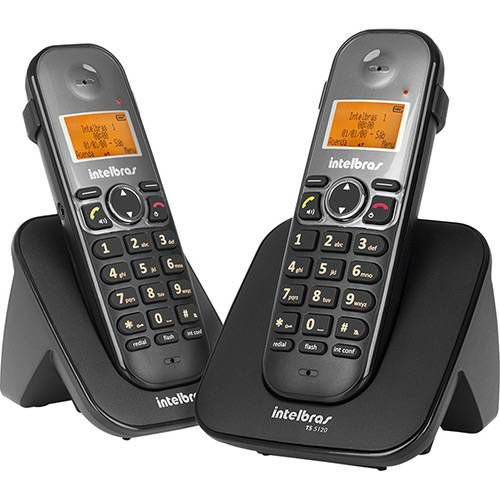 Telefone sem fio  com ramal  TS 5122 - Intelbras