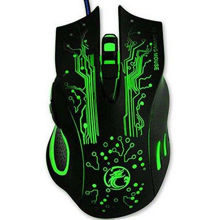 Mouse Gamer Estone X9 com 6 Botões - Shinka