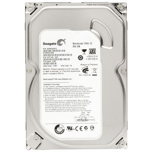 Hd 500gb Seagate Sata 5900 rpm