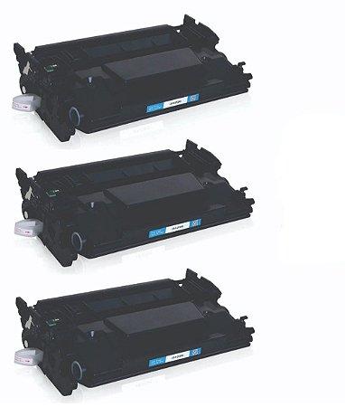 Kit 03 Cartuchos de Toner Compatível Hp Cf-226X